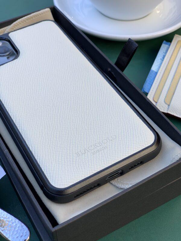 Beispielbild Leder Off-White